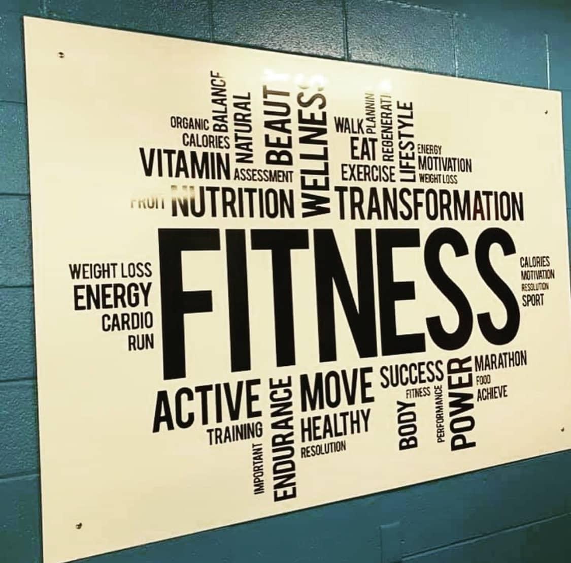 Fitness Center Sign